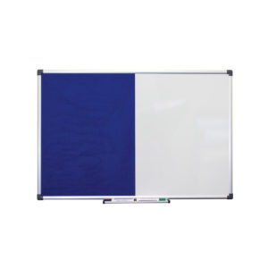 Combi Notice Board - Blue