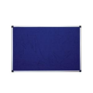 Felt Notice Board - blue